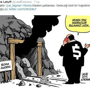 SOMA Madeni Karikatürü, Carlos Latuff