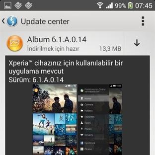 Sony WALKMAN ve ALBUM Uygulamarı Güncellendi!