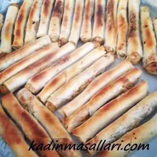 Tavuklu Sebzeli Çin Böreği