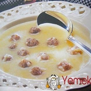 Terbiyeli Köfte Çorbası