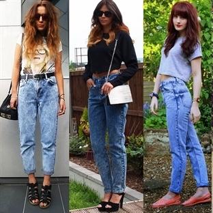 trend çanları çalıyor: mom jeans