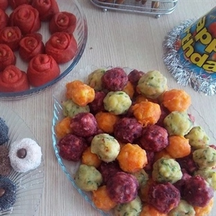 Üç Renkli Top Salata