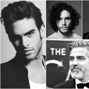 Ünlüler dünyasının stil ikonu erkeklerinin saçları