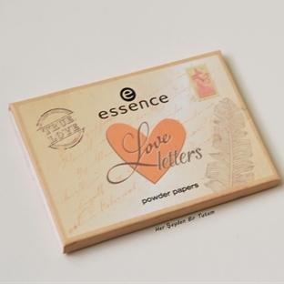 Ürün İncelemesi : Essence Love Letters Kağıt Pudra