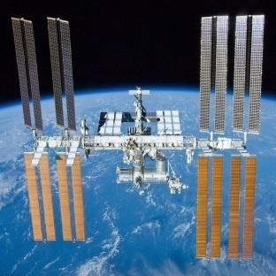 Uzay İstasyonundan Canlı Yayın