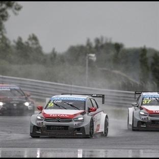 WTCC: Slovakya'da Yağmur Engeli, İlk Yarış Loeb'in