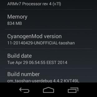 Xperia L için Resmi olmayan CyanogenMod 11!