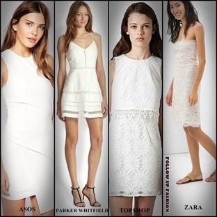 Yazın Vazgeçilmezi Beyaz Elbiseler
