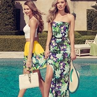 Yaz Modası Tropikal Desenler