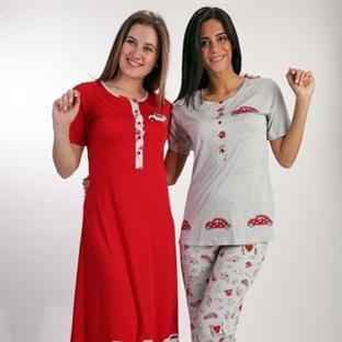 Yazlık gecelik pijama modelleri