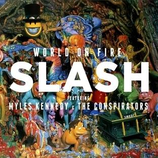 Yeni Slash albümü World On Fire Eylül'de geliyor!