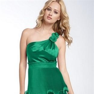 Yeşil Abiye Modelleri 2014