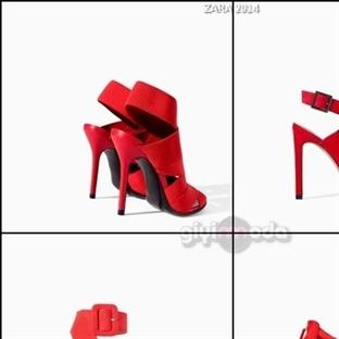 ZARA 2014 Ayakkabı Modelleri