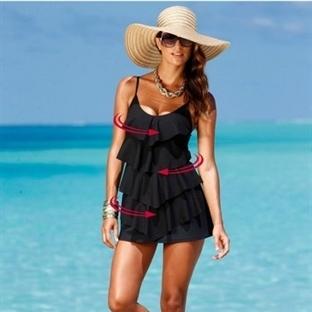 Zayıf Gösteren Mayo Ve Bikini Modelleri