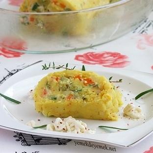 Zerdeçallı Patates Rulo