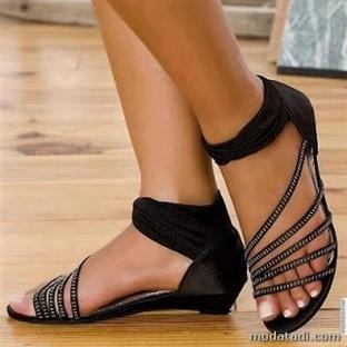 2014 bayan sandalet modelleri