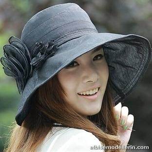 2014 Bayan Yazlık Şapka Modelleri