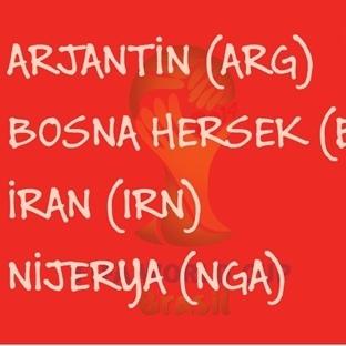 2014 Dünya Kupası: F Grubu