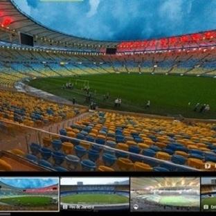 2014 Dünya Kupası Statlarını 360 Derece Gezin