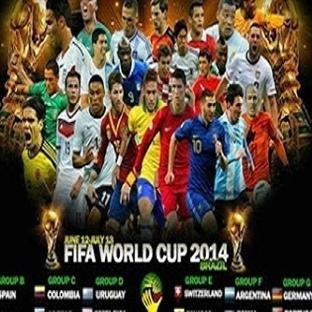 2014 Fifa Dünya Kupası Maç Programı [Excel]