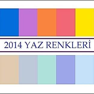 2014 Yaz Renkleri
