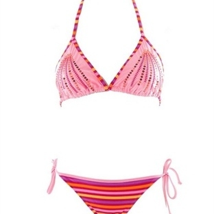 2014 Yaz Sezonu Sunset Straplez Mayo Bikiniler