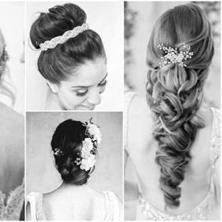 2014 yazının en trend gelin saçı modelleri
