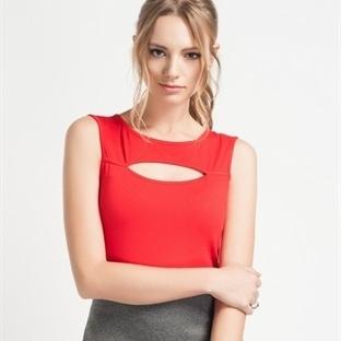 2014 Yazlık Kırmızı Bluz Modelleri