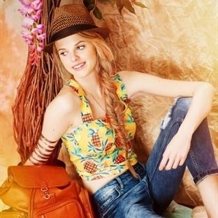 2014 Yazlık Renkli Bluz Modelleri