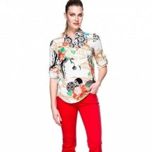 Adil ışık yazlık bayan gömlek modelleri