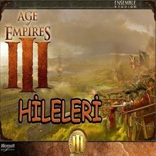 Age of Emppires 3 Hile Kodları
