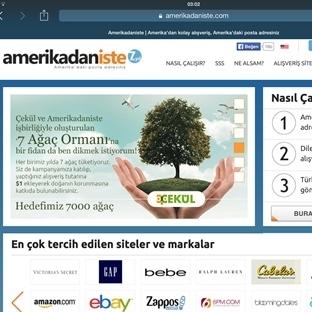 Amerikadaniste.com İle Amerika Alışverişi