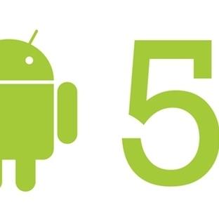 Android 5.0 Güncellemesi