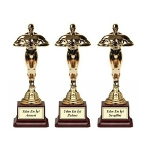 Babalar Günü Oscar Heykel Ödülü Hediyesi