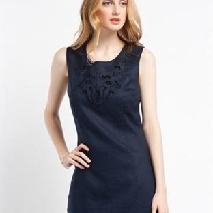 Bej Günlük Elbise Modelleri