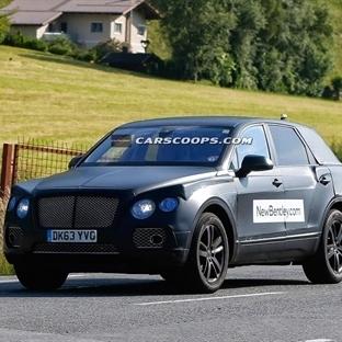 Bentley SUV Test Sürüşü'nde Görüntülendi!