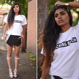 Beyaz tişört kombinleri ve öneriler