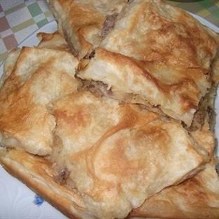 çay saati için krep böreği-sana çöreği-ıslak kurab