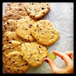 Chocolate chip cookies - Nestle orijinal
