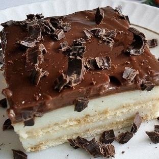 Çikolatalı Bisküvili Pasta