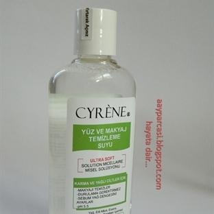 Cyrêne Yüz ve Makyaj Temizleme Suyu