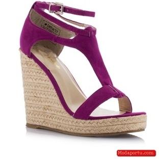 Defacto 2014 bayan sandalet modelleri