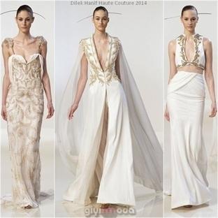 Dilek Hanif Haute Couture 2014 Koleksiyonu