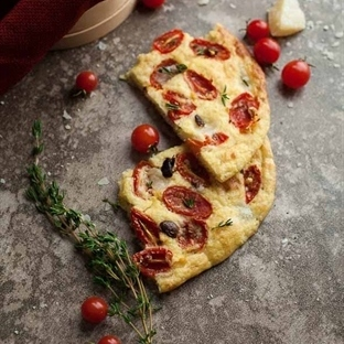 Domatesli Foccacia Ekmeği - İtalyan Lezzetleri