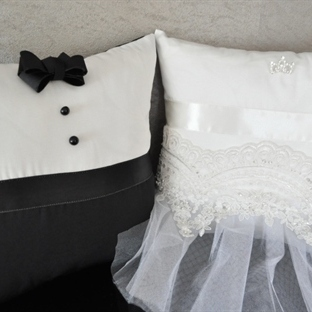Düğün Dosyası: Gelin ve Damat Yastıklar