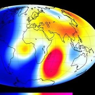 Dünya'nın Eloktromanyetik Alanı Zayıflıyor