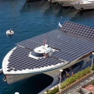 Dünyanın En Büyük Güneş Enerjili Gemisi