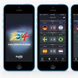 Fifa Dünya Kupası 2014 iPhone Uygulaması