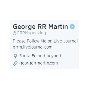 George R.R. Martin De Twitter'da