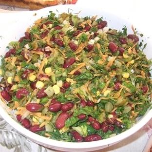 havuçlu mısırlı meksika salatası